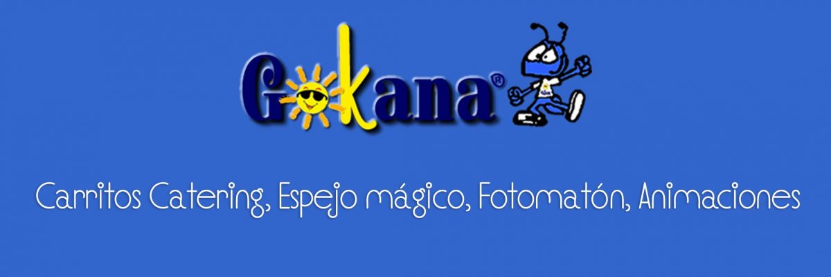 Gokana: carritos catering, fotomaton en Madrid